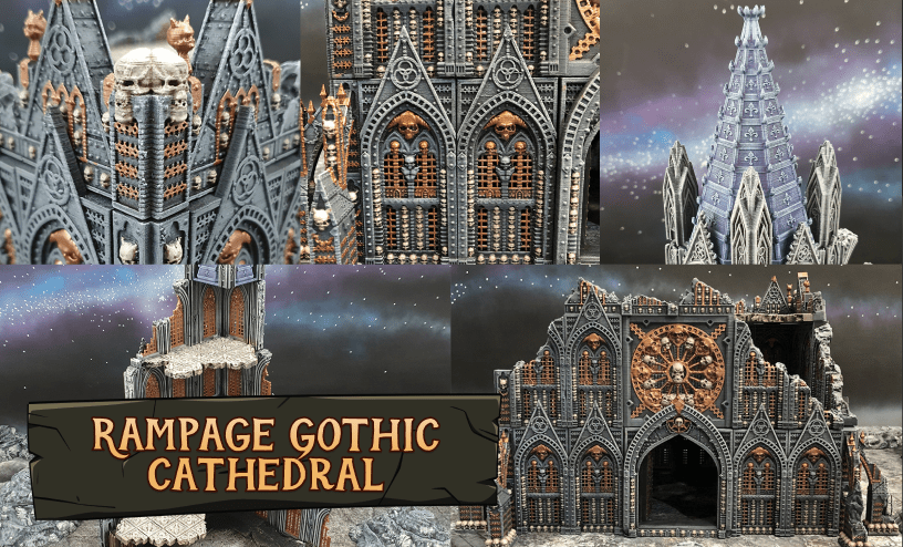 Rampage Gothic Cathedral - Add-On